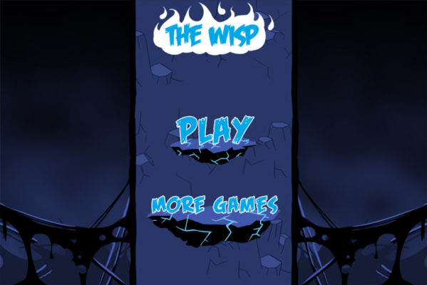 Écran titre du jeu