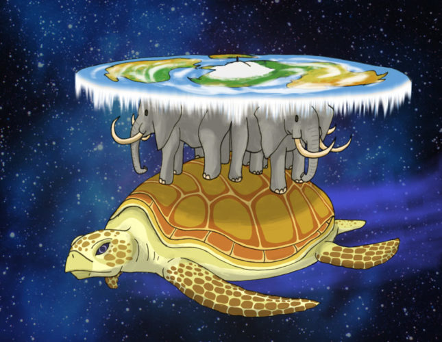La Grand A'tuin de Terry Pratchett