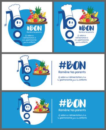 Déclinaisons du logo Salon #BON