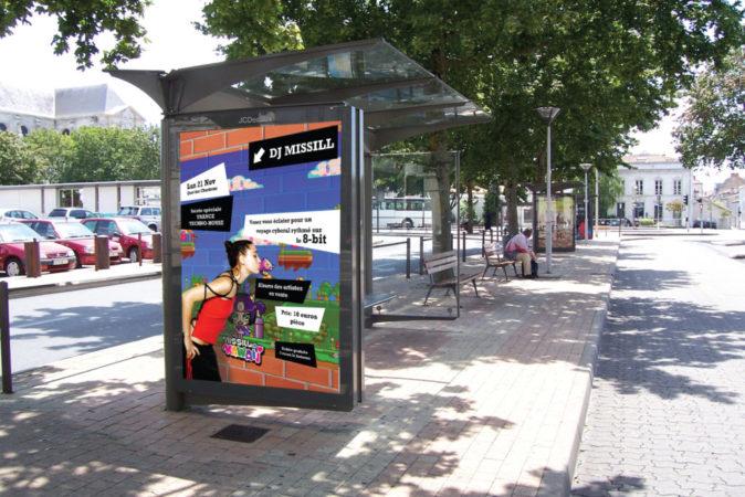 Simulation abris-bus